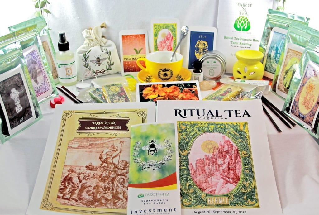 Home - Tarot N Tea - Subscription Boxes, Teas, Teaware,Tarot